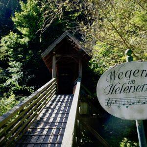Wegerl im Helenental